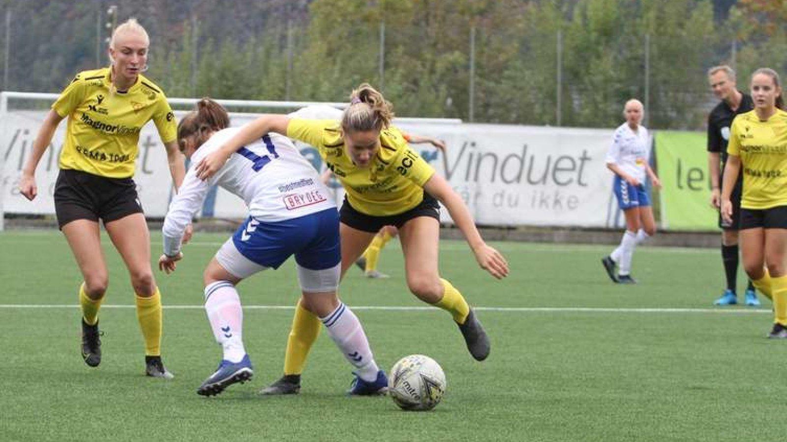 Andrine Brunvatne Kvittingen sendte Os/Nore Neset i føringa.